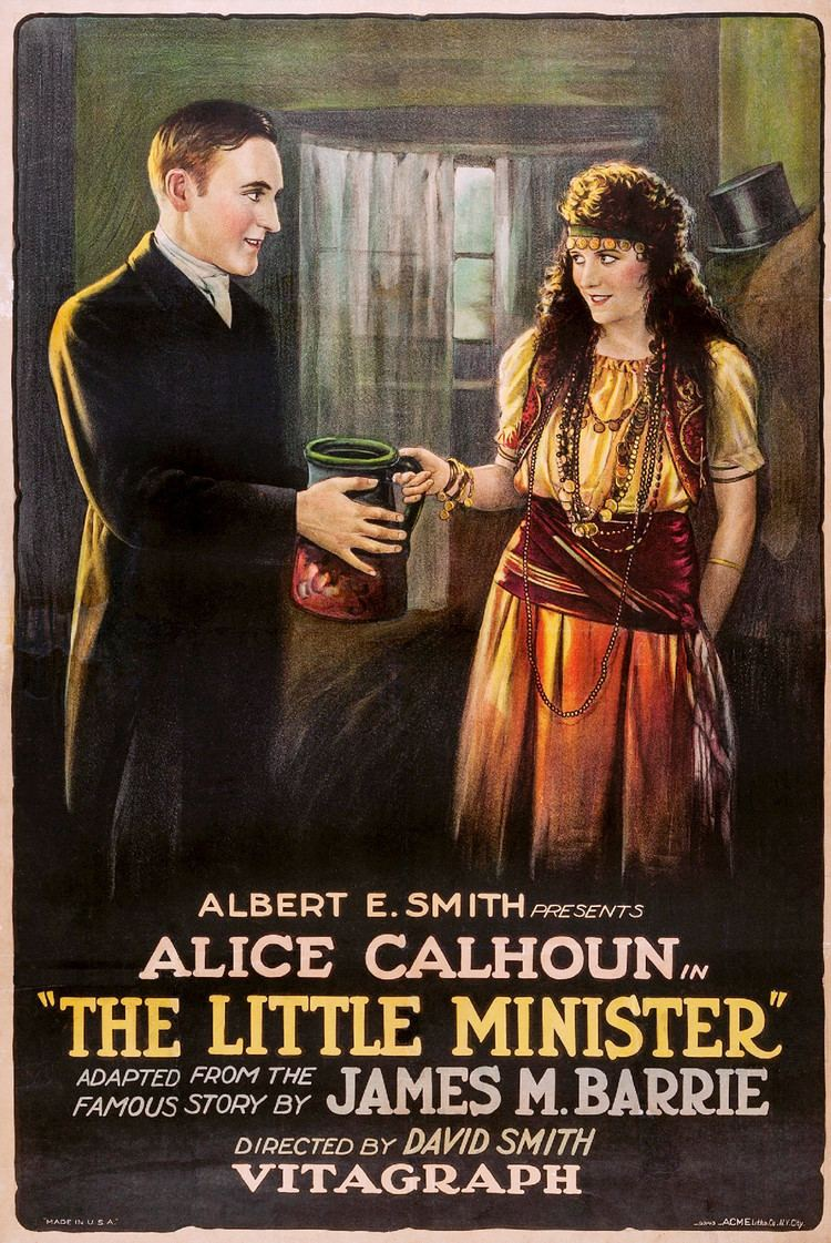 The Little Minister (1922 film) movie poster