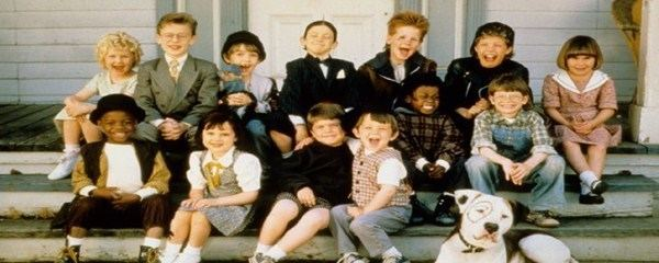 The Little Rascals Christmas Special movie scenes The Little Rascals