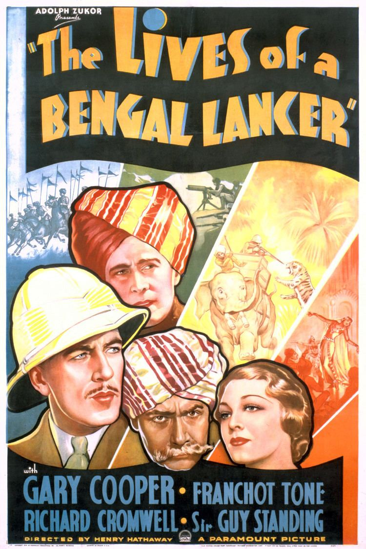 The Lives of a Bengal Lancer (film) wwwgstaticcomtvthumbmovieposters1446p1446p