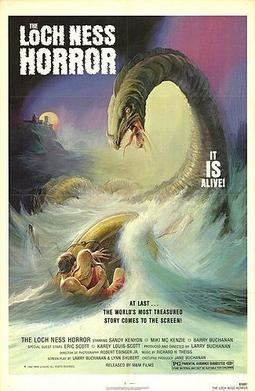 The Loch Ness Horror movie poster