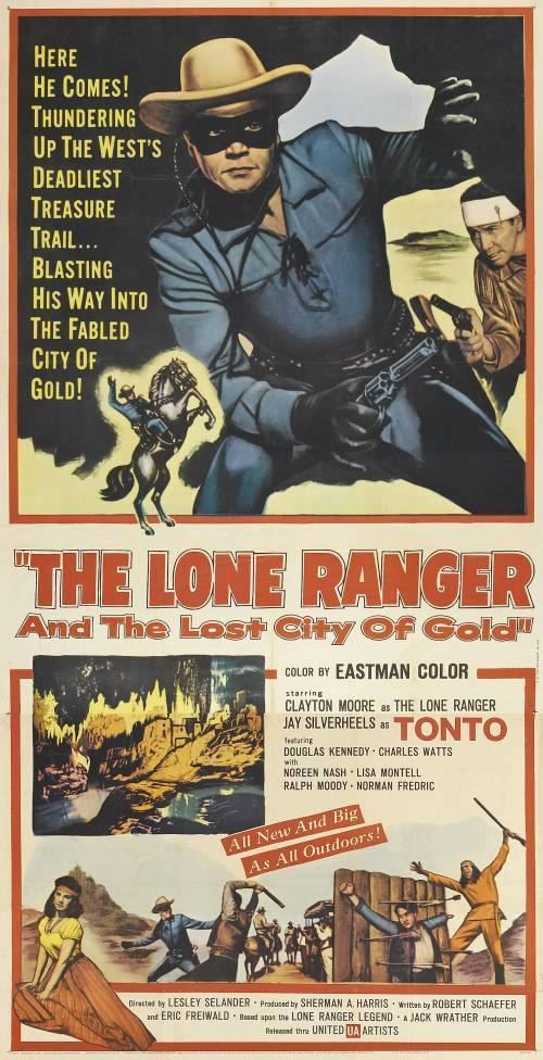 The Lone Ranger and the Lost City of Gold Davy Crocketts Almanack of Mystery Adventure and The Wild West