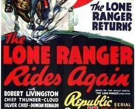 The Lone Ranger Rides Again THE LONE RANGER RIDES AGAIN 15 CHAPTER SERIAL 1939 for sale