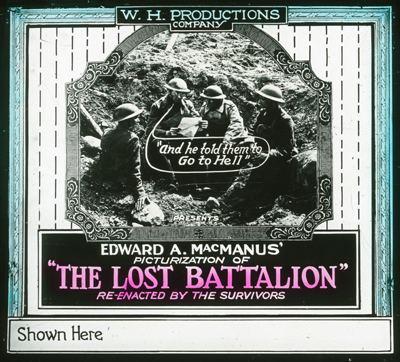 The Lost Battalion (1919 film) httpsuploadwikimediaorgwikipediacommons55
