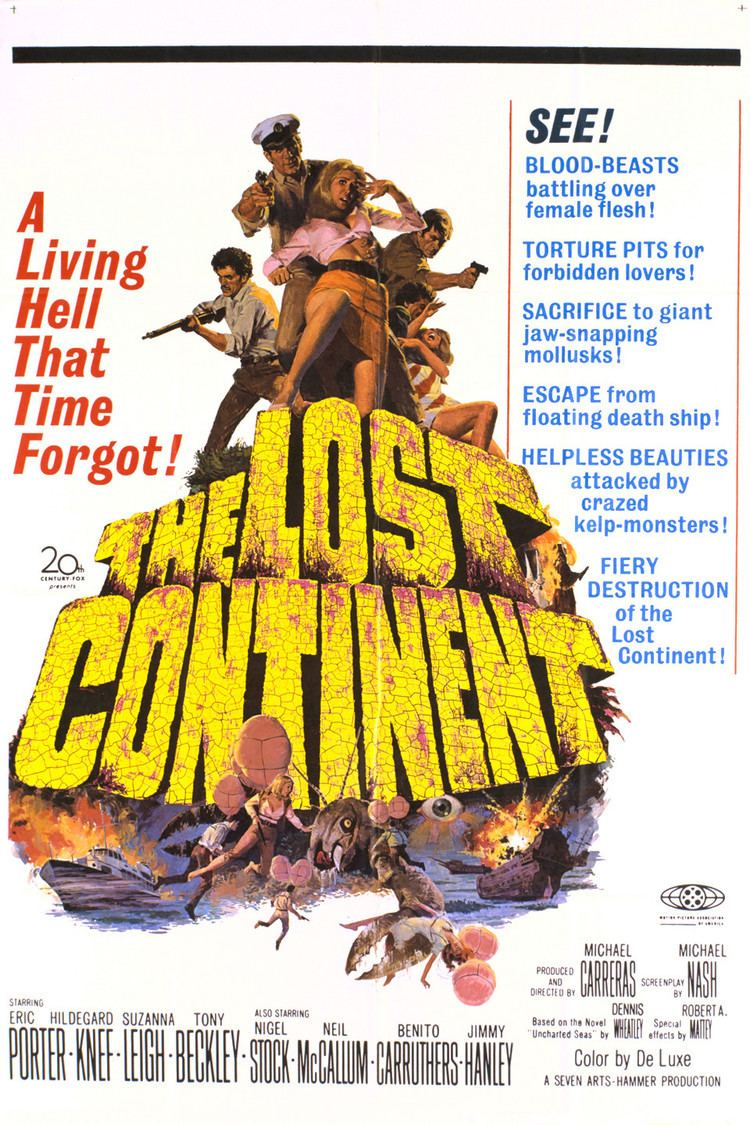 The Lost Continent (1968 film) wwwgstaticcomtvthumbmovieposters3805p3805p