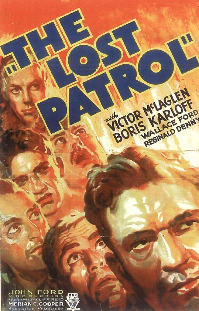 The Lost Patrol (1934 film) Greenbriar Picture Shows