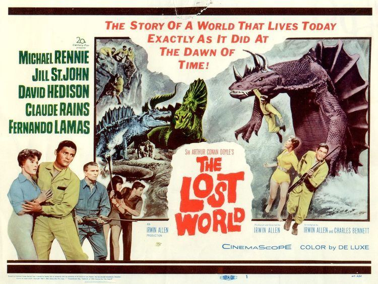 The Lost World (1960 film) Dueling Dinos Returning to THE LOST WORLD 1960 and THE LOST WORLD