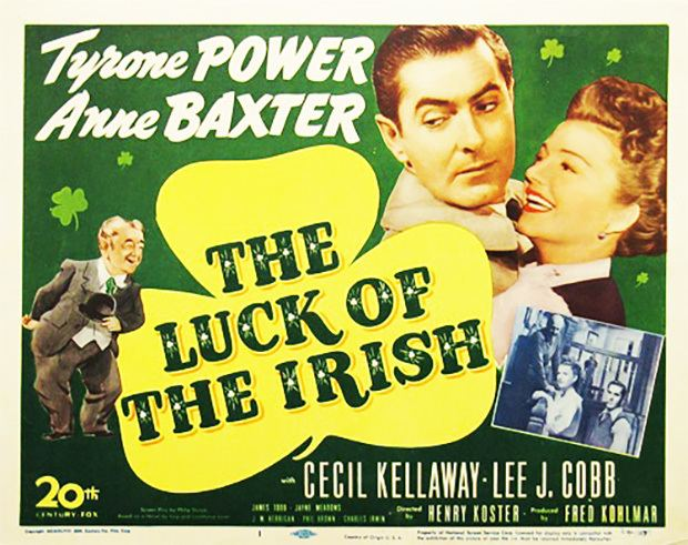 The Luck of the Irish (1948 film) Tyrone Power in The Luck of the Irish 1948