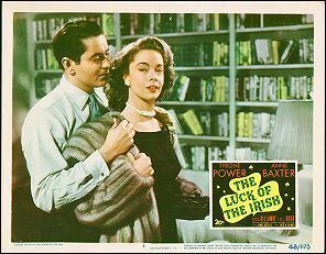 The Luck of the Irish (1948 film) Conjure Cinema THE LUCK OF THE IRISH 1948 shown March 1994