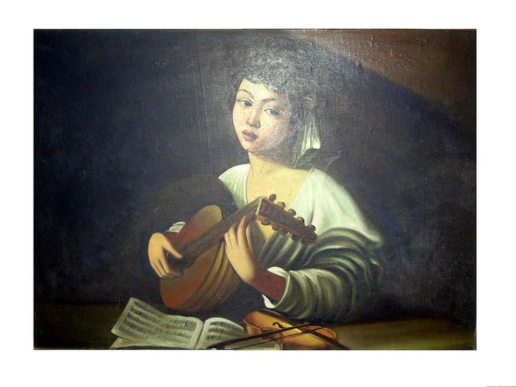The Lute Player (Caravaggio) The Lute Player Painting by Caravaggio
