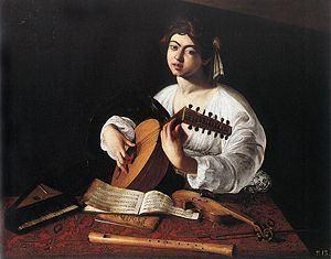 The Lute Player (Caravaggio) httpsuploadwikimediaorgwikipediacommonsthu