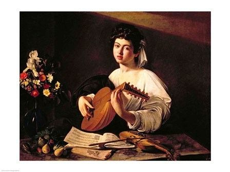The Lute Player (Caravaggio) The Lute Player painting by Caravaggio Caravaggio Gallery