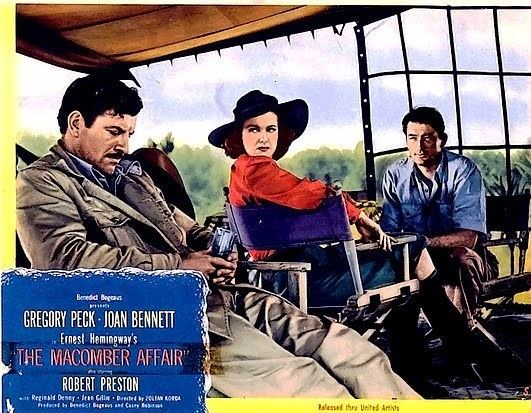 The Macomber Affair movie scenes As a longtime Ernest Hemingway fan note the badge at the bottom of this blog I ve wanted to see the 1947 film The Macomber Affair but it s never on TV