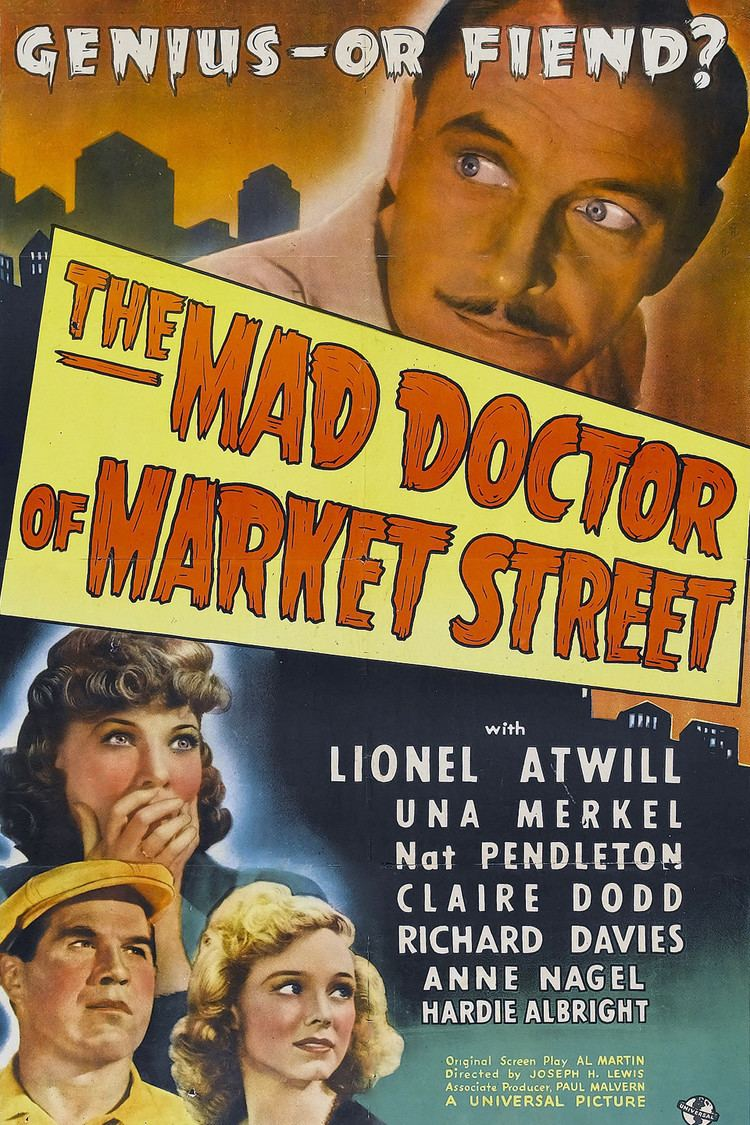 The Mad Doctor of Market Street wwwgstaticcomtvthumbmovieposters39595p39595
