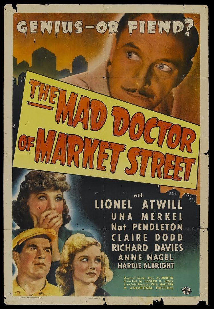 The Mad Doctor of Market Street Mad Doctor Of Market Street 1942 now spinning Steve Hoffman Music