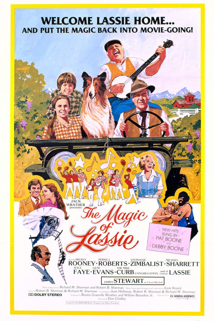 The Magic of Lassie wwwgstaticcomtvthumbmovieposters1385p1385p