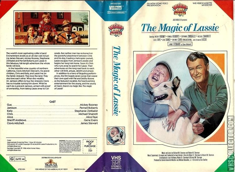 The Magic of Lassie The Magic of Lassie VHSCollectorcom Your Analog Videotape Archive