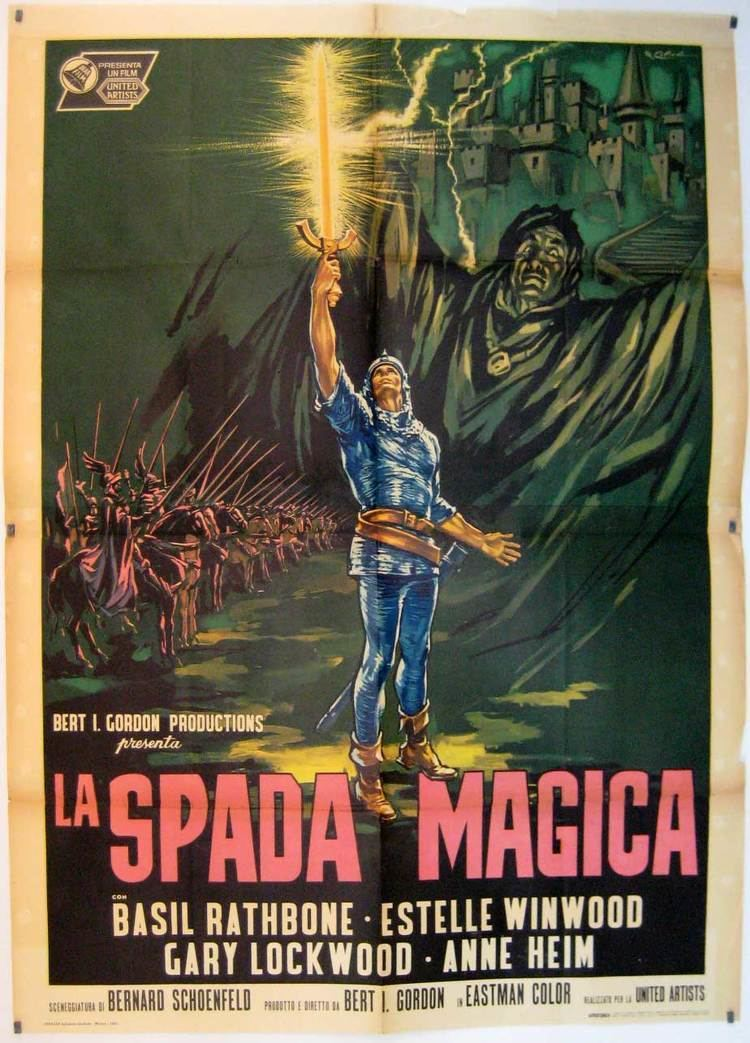 The Magic Sword (1962 film) Dark Corners Of Role Playing The Public Domain Film The Magic