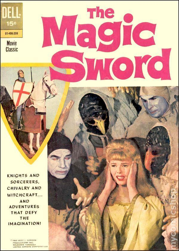 The Magic Sword (1962 film) Magic Sword 1962 Movie Classics comic books