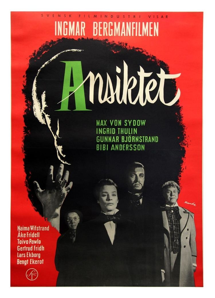 The Magician (1958 film) SWEDEN