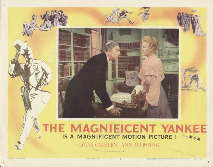 The Magnificent Yankee (1950 film) The Magnificent Yankee 1950