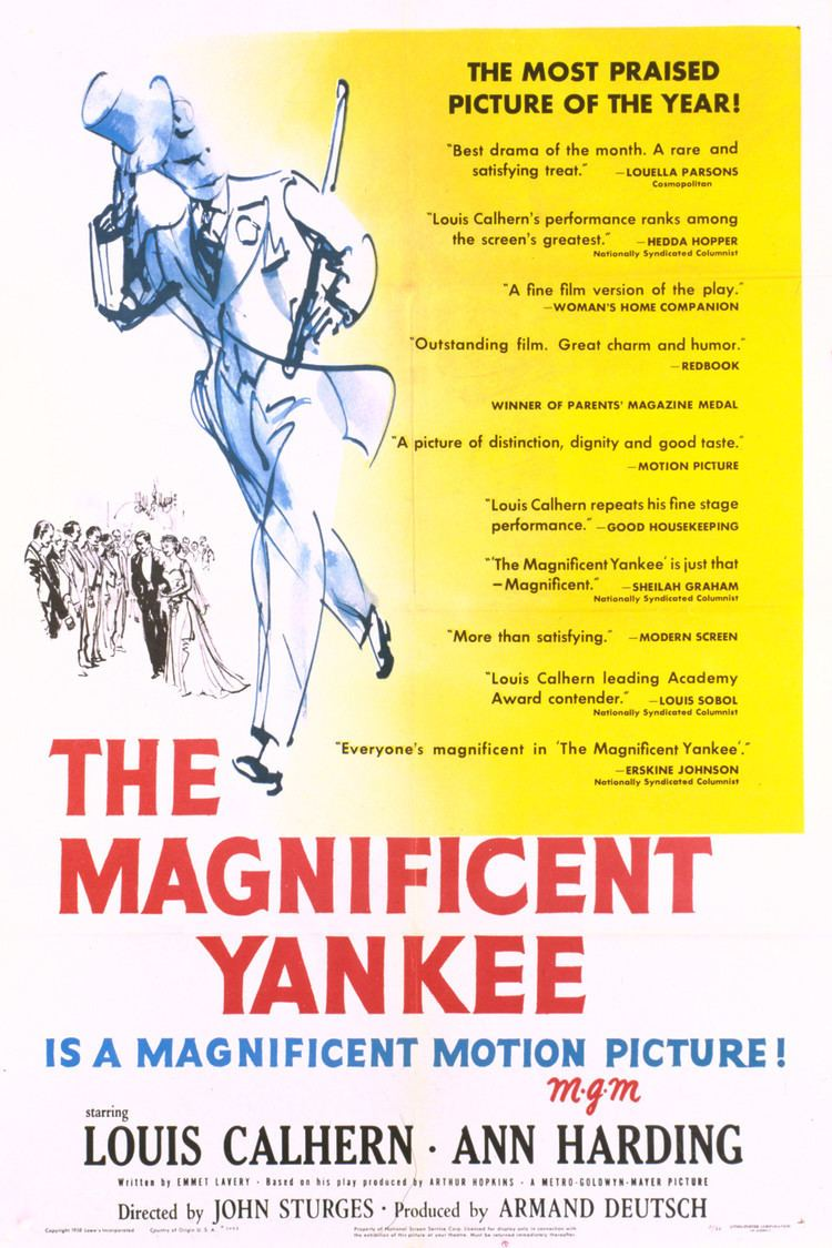 The Magnificent Yankee (1950 film) wwwgstaticcomtvthumbmovieposters5489p5489p