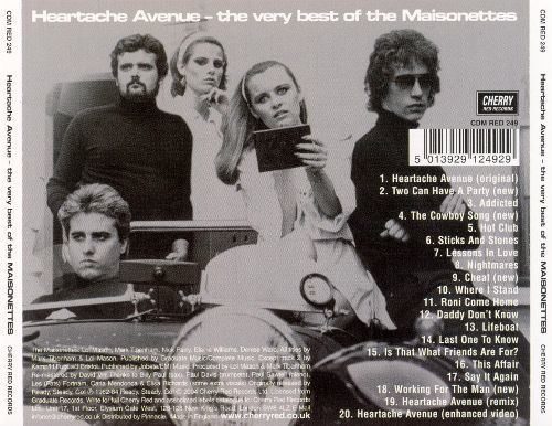 The Maisonettes The Heartache Avenue The Very Best of the Maisonettes The