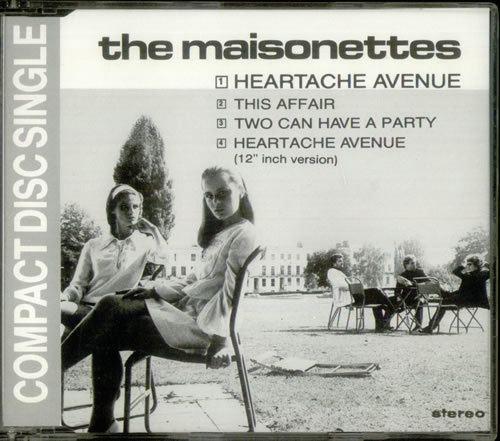 The Maisonettes The Maisonettes Heartache Avenue Dutch 3 CD single CD3 540887
