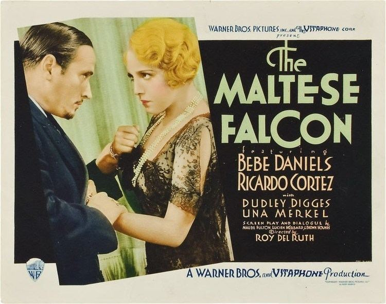 The Maltese Falcon (1931 film) After the Silents The Maltese Falcon 1931 Movies Silently