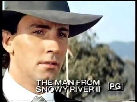 The Man from Snowy River II aka Return to Snowy River 1988 VHS