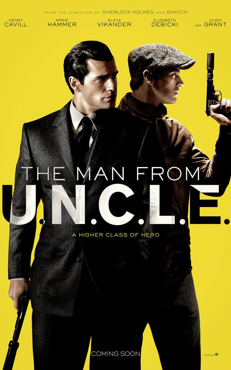 The Man from U.N.C.L.E. Metisse stars in The Man from UNCLE Metisse