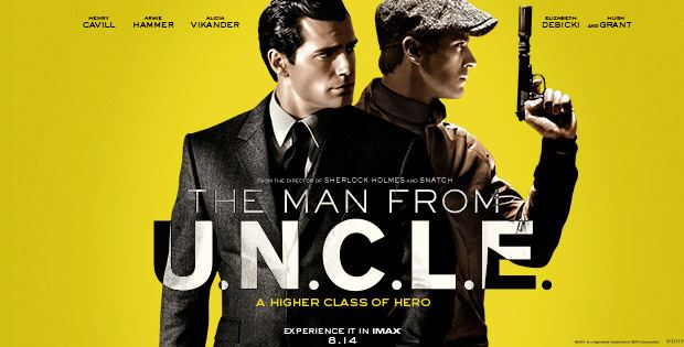 The Man from U.N.C.L.E. The Man from UNCLE Nostalgic Spy Flick Parodies the 1960s and