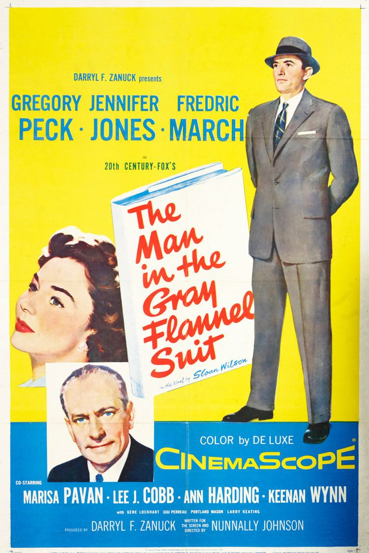 The Man in the Gray Flannel Suit wwwgstaticcomtvthumbmovieposters552p552pv