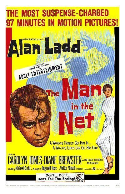 The Man in the Net The Man in the Net Movie Poster 1 of 3 IMP Awards