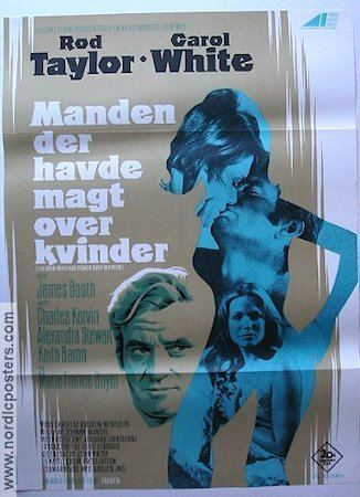 The Man Who Had Power Over Women The Man Who Had Power Over Women poster Denmark 1970 Rod Taylor original