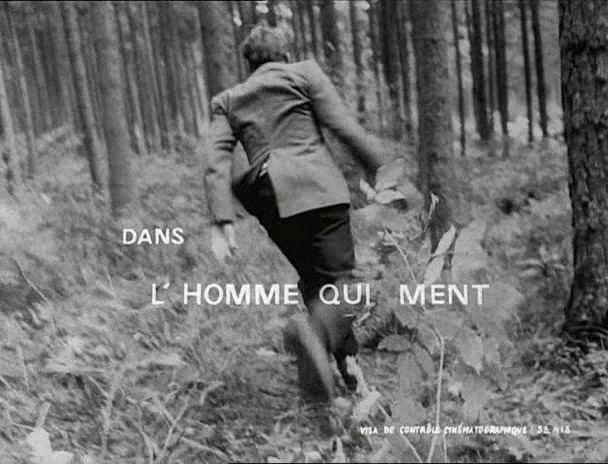 The Man Who Lies Lhomme qui ment The Man Who Lies 1968 Alain RobbeGrillet