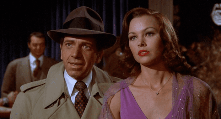 The Man with Bogart's Face Zebradelic Michelle Phillips in The Man with Bogarts Face