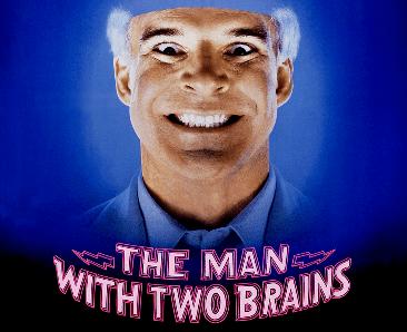 The Man with Two Brains THE MAN WITH TWO BRAINS Soundtrack by Joel Goldsmith