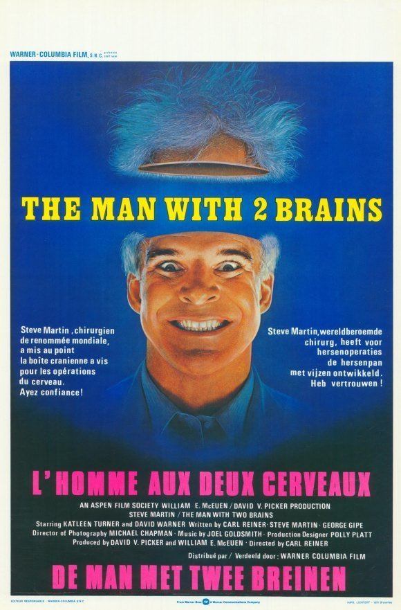 The Man with Two Brains The Man with Two Brains Movie Posters From Movie Poster Shop