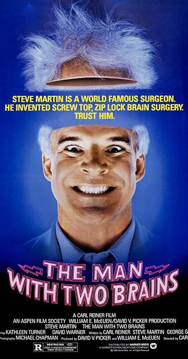 The Man with Two Brains The Man with Two Brains 1983 IMDb