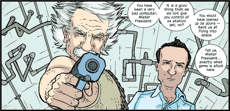 The Manhattan Projects On The Manhattan Projects 110 this cage is worms