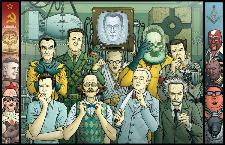 The Manhattan Projects The Manhattan Projects by PaulHanley on DeviantArt