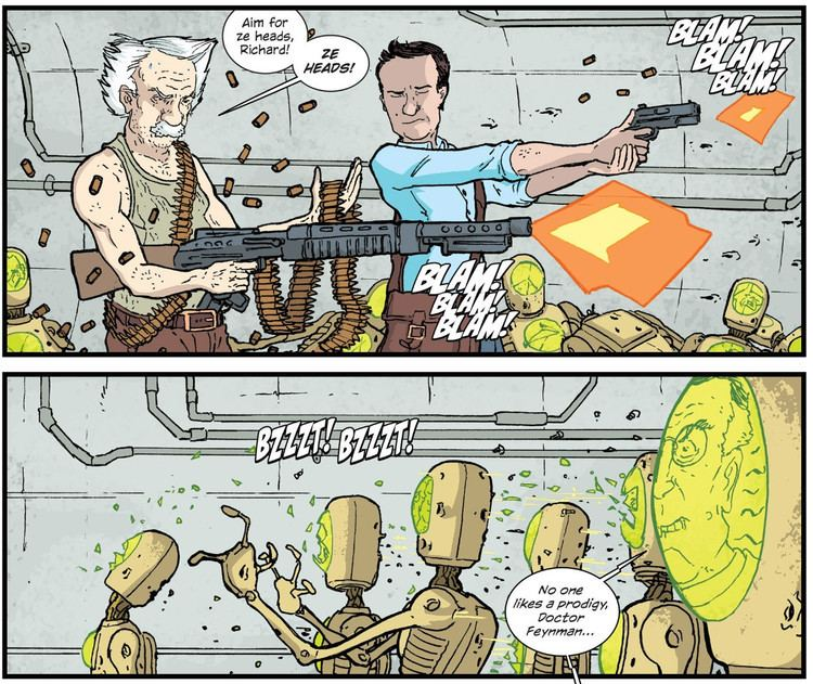 The Manhattan Projects In a pickle over The Manhattan Projects comicbooks