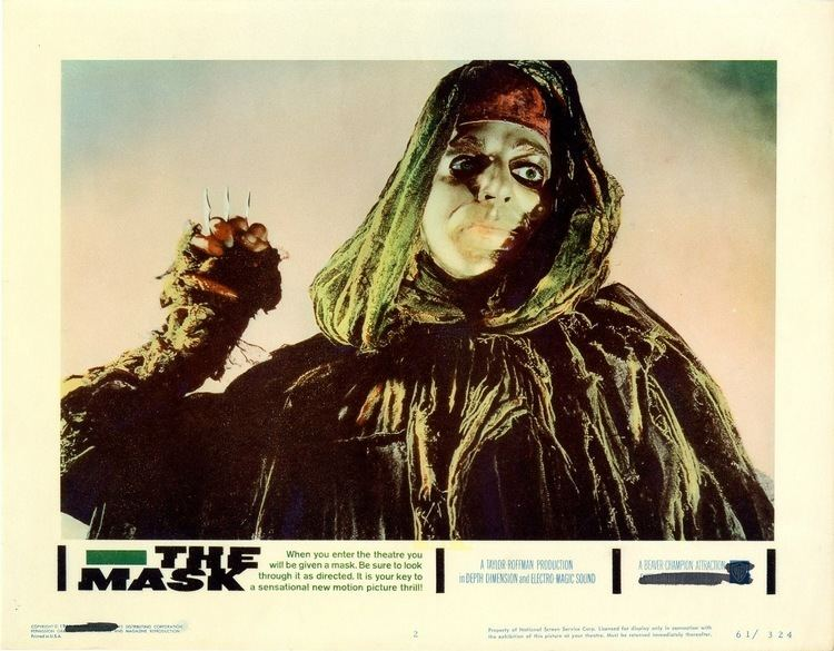 The Mask (1961 film) Put on the Mask Now 1961s Psychedelic Film THE MASK Comes to 3D