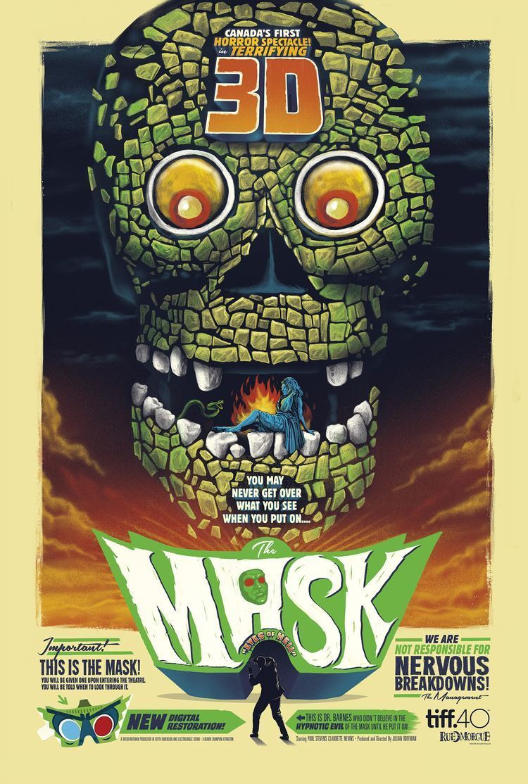The Mask (1961 film) Review Restored Canadian 3D Horror Classic THE MASK ComingSoonnet