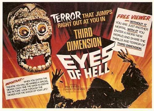 The Mask (1961 film) BLACK HOLE REVIEWS THE MASK 1961 vintage 3D horror finally on DVD
