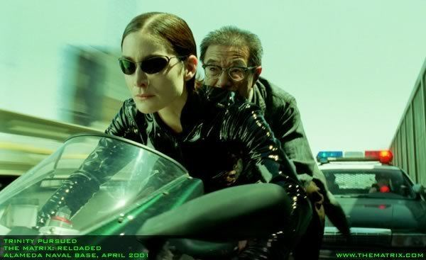 The Matrix Reloaded movie scenes Archival interview with Steve Condiotti from the official Matrix website
