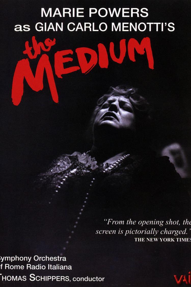 The Medium (1951 film) wwwgstaticcomtvthumbdvdboxart91714p91714d