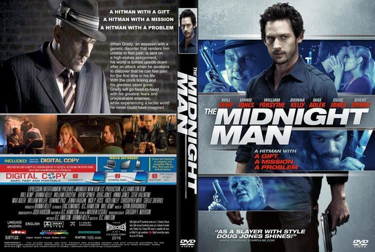 The Midnight Man (2016 film) The Midnight Man dvd cover 2015 R1 CUSTOM