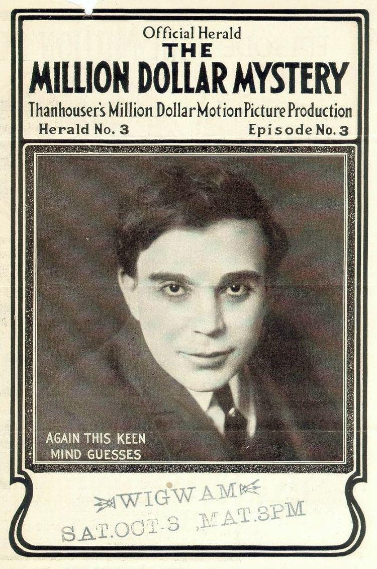 The Million Dollar Mystery movie poster