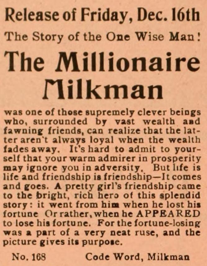 The Millionaire Milkman The Millionaire Milkman Wikipedia